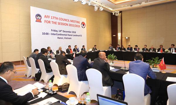 VFF - Ngày 14/12, khai mạc họp hội đồng AFF lần thứ 17 tại Hà Nội
