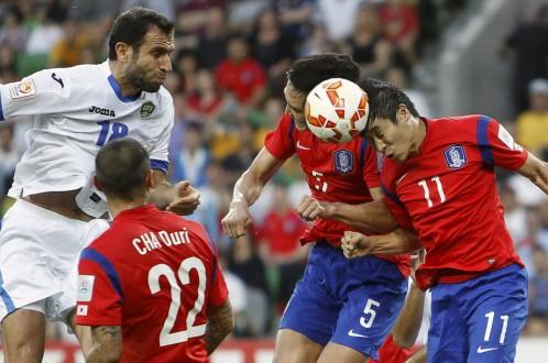 Đá bại Uzbekistan, Hàn Quốc vào bán kết Asian Cup 2015