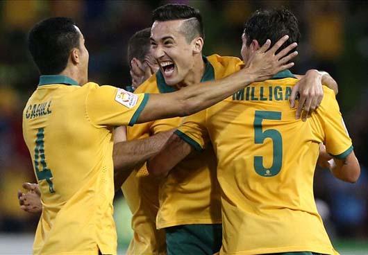 Tứ kết AFC Asian Cup 2015: Australia tiến bước vào chung kết gặp Hàn Quốc