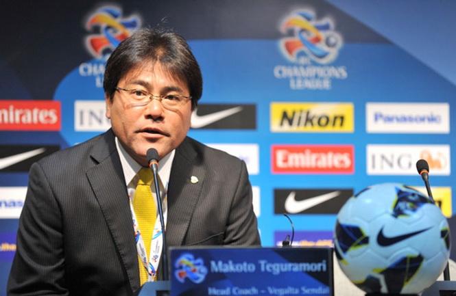 HLV Teguramori Makoto - ĐT U.23 Nhật Bản: 'Chúng tôi sẽ giành vé đi tiếp đến vòng chung kết