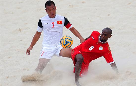 Lịch thi đấu của ĐT bóng đá bãi biển VN tại giải vô địch thế giới- VL khu vực châu Á