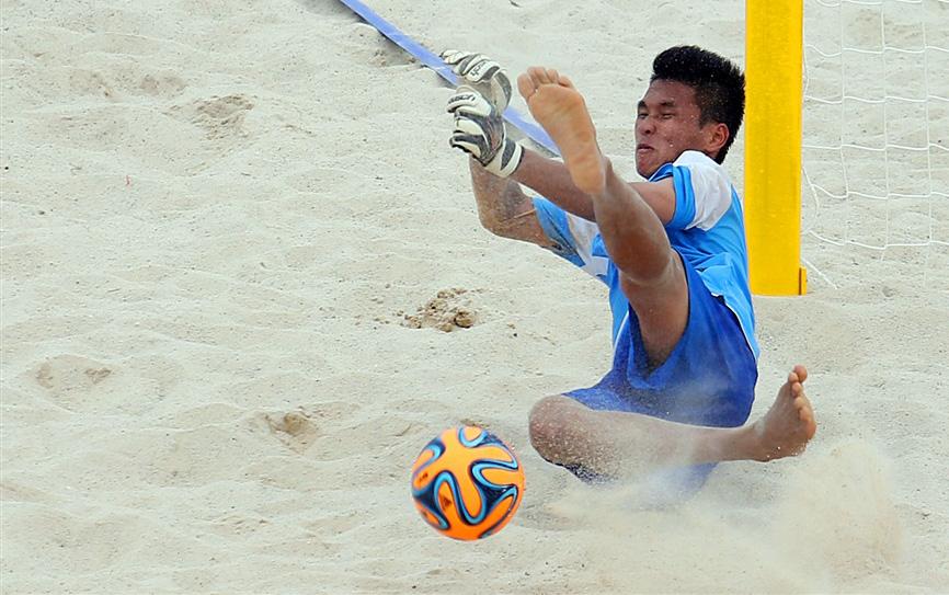 Giải bóng đá bãi biển thế giới- VL khu vực châu Á: ĐT Việt Nam thua đáng tiếc sau loạt đá luân lưu