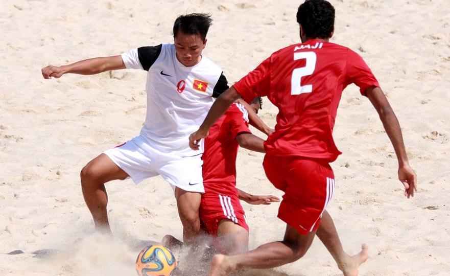 Giải bóng đá bãi biển thế giới – VL khu vực châu Á: ĐT Việt Nam thua ĐT Kuwait 4-6