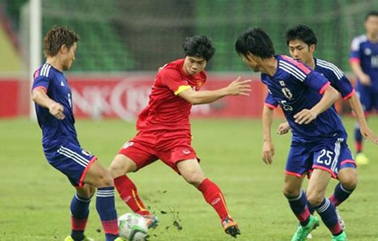 Vòng loại U23 châu Á 2016, Olympic Việt Nam thất bại 0-2 trước Olympic Nhật Bản