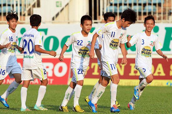 Vòng loại U15 QG 2015 (ngày 31/3): HAGL tiếp bước Sơn Tây vào VCK