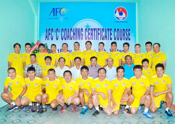 Khai giảng khóa đào tạo HLV bóng đá chứng chỉ 'C' AFC 2015