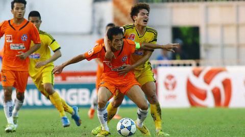 Vòng sơ loại Cúp QG Kienlongbank 2015: Các đội V-League vất vả giành vé đi tiếp