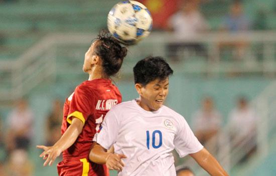 Nhất bảng B, ĐT nữ Việt Nam gặp kỳ phùng địch thủ Thái Lan tại bán kết