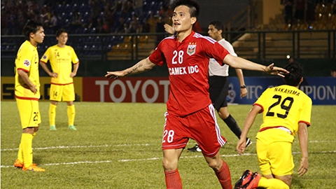 ACL 2015: Công Vinh ghi bàn, B.Bình Dương đánh bại đại gia Nhật Bản