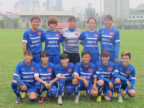 Danh sách đội tuyển nữ Quốc gia đi tập huấn tại Australia