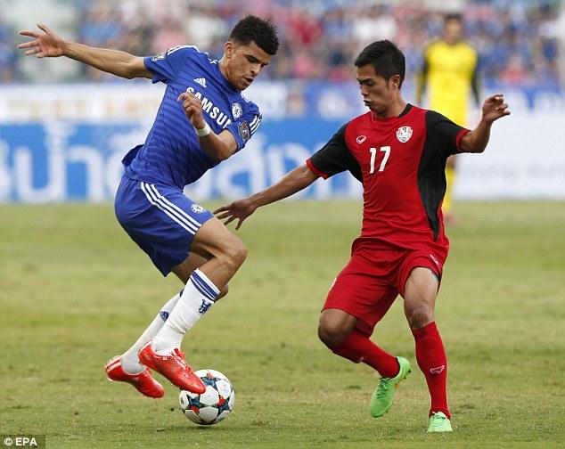 Sao trẻ lập công, Chelsea thắng sít sao Thái Lan