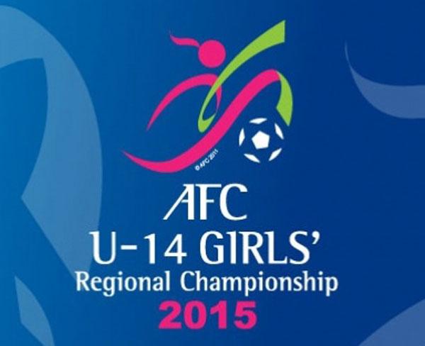 Thay đổi lịch thi đấu giải BĐ U14 nữ châu Á 2015 - khu vực Đông Nam Á