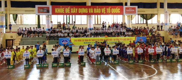 Vòng loại giải bóng đá Thiếu Niên & Nhi Đồng toàn quốc 2015