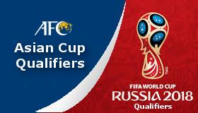 Lịch thi đấu vòng loại World Cup 2018 khu vực châu Á (Mới)