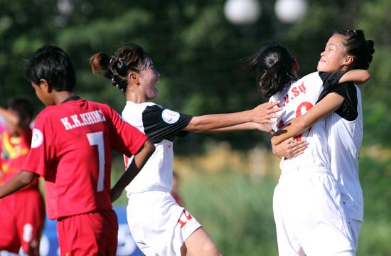 Đánh bại U14 Myanmar sau loạt luân lưu nghẹt thở, U14 Việt Nam gặp U14 Thái Lan tại chung kết