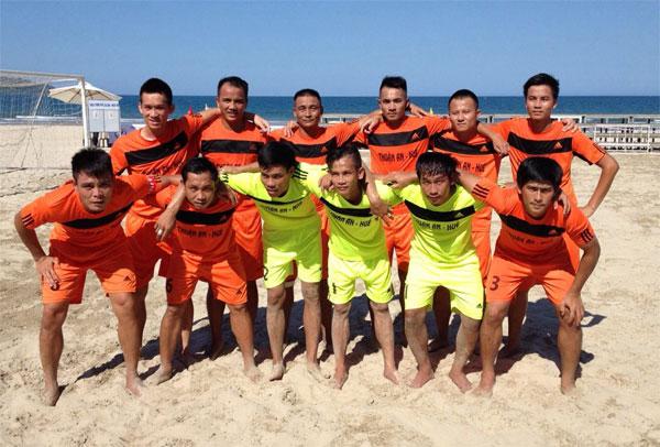 Thuận An Huế vô địch giải bóng đá bãi biển Quốc gia 2015