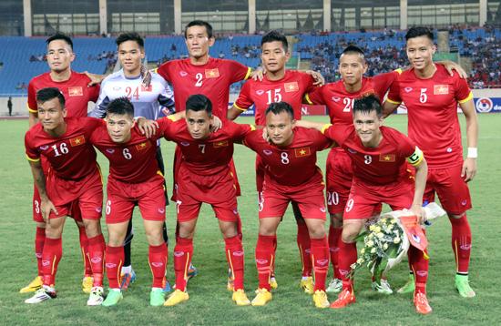 BXH FIFA tháng 7/2015: ĐT Việt Nam xếp hạng 143 thế giới