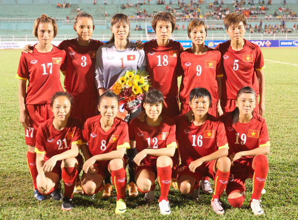 BXH FIFA quý II/2015: ĐT nữ Việt Nam tụt 1 bậc xuống vị trí 35