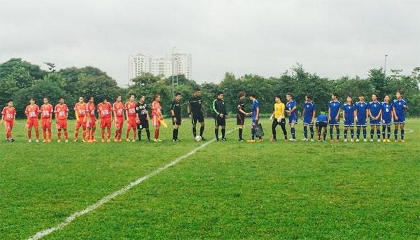 Thi đấu giao hữu (29/7), ĐT nữ Đài Loan (Trung Quốc) - đội nữ Hà Nội: 1-0