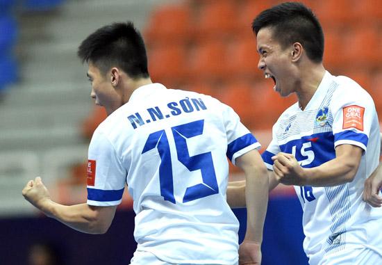 VCK giải Futsal các CLB châu Á 2015: Thái Sơn Nam xuất sắc giành vé vào Tứ kết