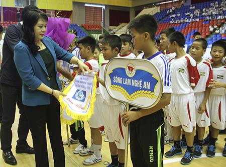 Khai mạc VCK giải bóng đá Nhi đồng toàn quốc- Cúp Báo Nhi đồng 2015