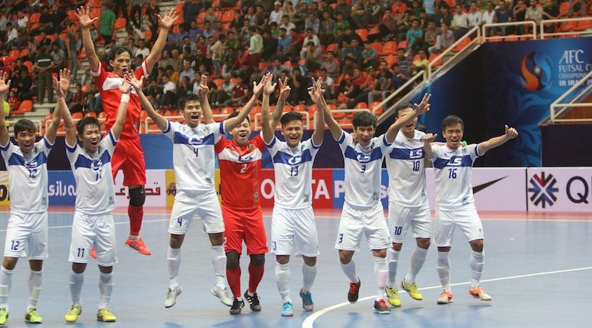 Trút mưa bàn thắng vào lưới Naft Al-Wasat, Thái Sơn Nam giành hạng Ba giải Futsal các CLB châu Á 2015