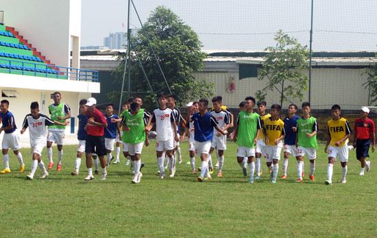 Danh sách ĐT U16 QG tập trung chuẩn bị tham dự vòng loại U16 châu Á 2016