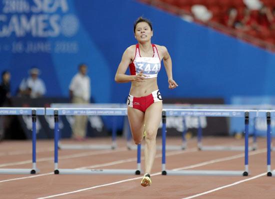 Nguyễn Thị Huyền sẵn sàng cho giải vô địch điền kinh thế giới 2015