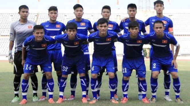 Danh sách chính thức ĐT U19 Việt Nam tham dự giải U19 Đông Nam Á 2015