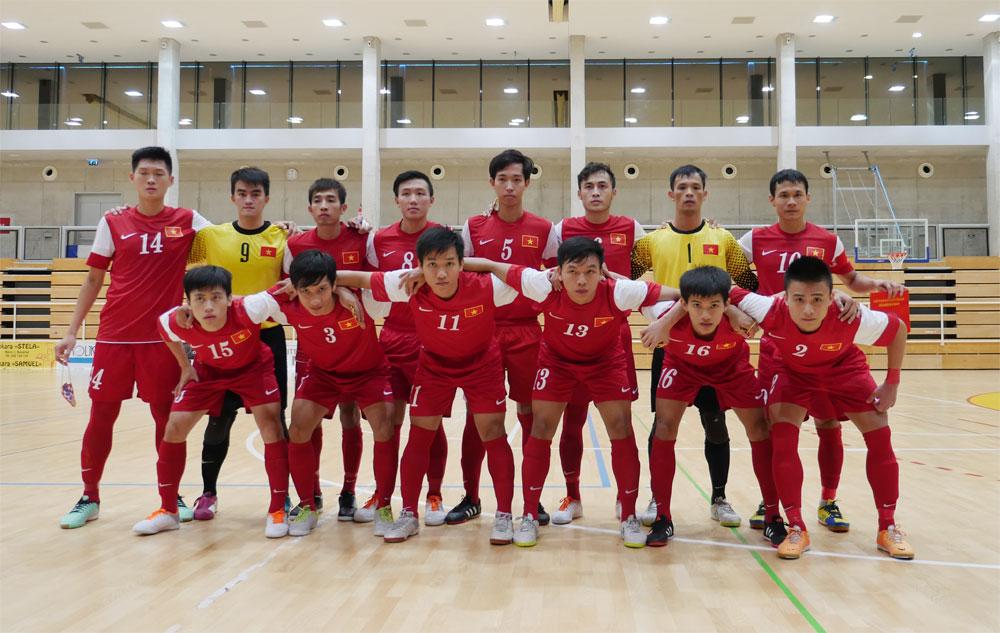 Danh sách ĐT Futsal Việt Nam tập trung chuẩn bị tham dự Giải Futsal Đông Nam Á 2015