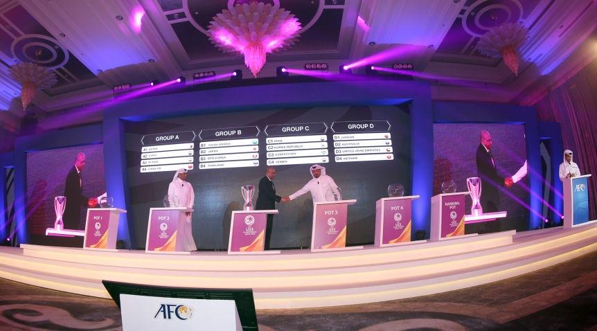 Kết quả bốc thăm VCK U23 châu Á 2016: Việt Nam cùng bảng Australia, Jordan và UAE