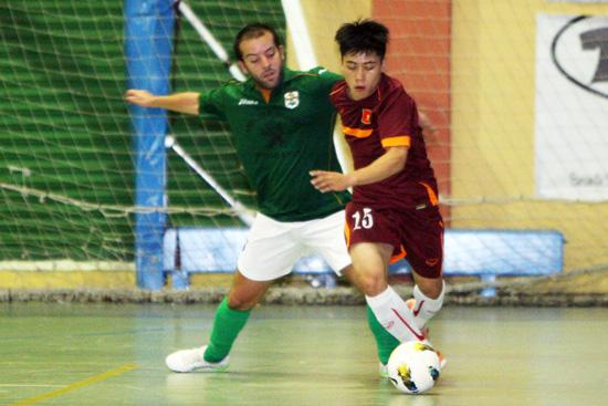 Giao hữu tại Tây Ban Nha, ĐT Futsal Việt Nam – CLB Villalba: 7-2