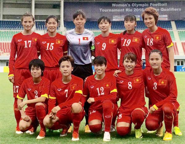 BXH FIFA quý IV/2015: Đội tuyển nữ Việt Nam tăng 2 bậc lên vị trí 33