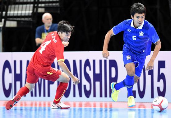 Thua Thái Lan, ĐT futsal Việt Nam lỡ hẹn với trận chung kết giải Đông Nam Á 2015