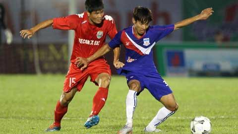 BTV Cup 2015: B.Bình Dương có 3 điểm, Sanna.KH cầm hoà SV Hàn Quốc
