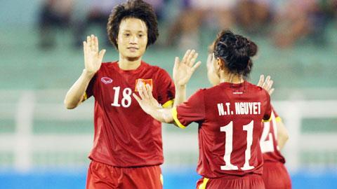 [Dự kiến] Kế hoạch hoạt động của Đội tuyển nữ Quốc gia năm 2016