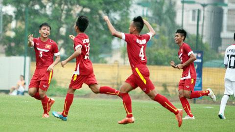 [Dự kiến] Kế hoạch hoạt động của Đội tuyển U16 Quốc gia năm 2016