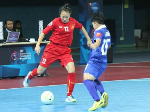 [Dự kiến] Kế hoạch hoạt động của Đội tuyển Futsal nữ Quốc gia năm 2016