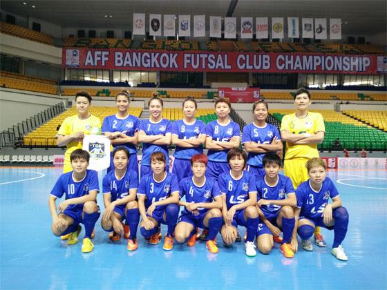 Giải Vô địch các CLB Futsal Đông Nam Á 2015: Nữ Thái Sơn Nam vô địch
