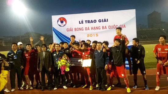 VCK giải Bóng đá hạng Ba Quốc Gia 2015: Viettel và Hà Nội T&T giành quyền lên hạng Nhì