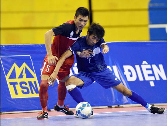 Ngày 21/12 khởi tranh Giải Futsal Cúp Quốc gia năm 2015