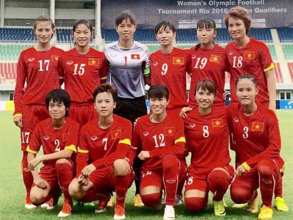 BXH FIFA Quý IV/2015: Đội tuyển nữ Việt Nam tăng 4 bậc lên vị trí 29