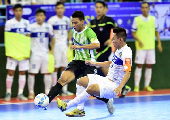 Giải Futsal Cúp QG 2015: Cả 2 ứng cử viên vô địch đều bất ngờ bại trận