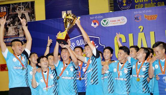 Hải Phương Nam Phú Nhuận vô địch Giải Futsal Cúp Quốc gia 2015