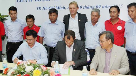 Hôm nay (8/1), LĐBĐ TP.HCM ký hợp tác với CLB Lyon