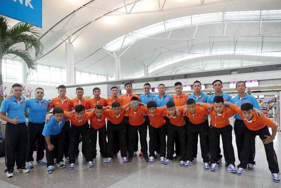 Danh sách ĐT Futsal Việt Nam tham dự VCK Futsal châu Á 2016