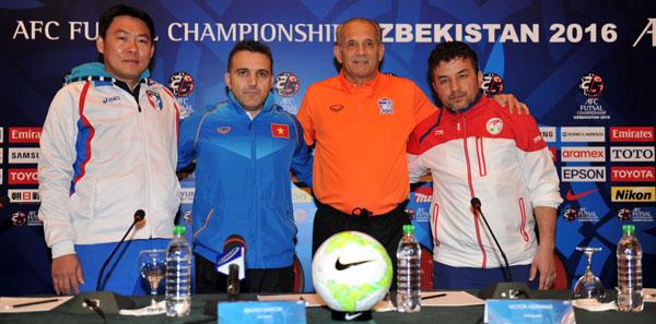VCK Futsal châu Á 2016: Việt Nam quyết tâm giành điểm trước Đài Loan (Trung Quốc)