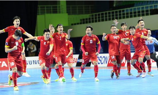 Xuất sắc lập kỳ tích tham dự World Cup, ĐT Futsal Việt Nam được VFF thưởng 1 tỷ đồng