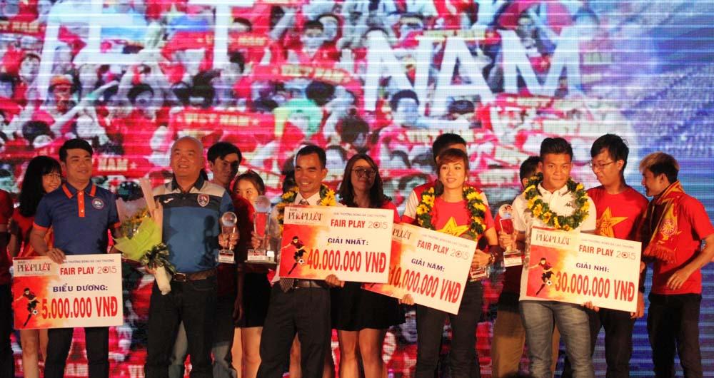 Gala trao Giải Fair Play 2015: Vinh danh Abass Dieng