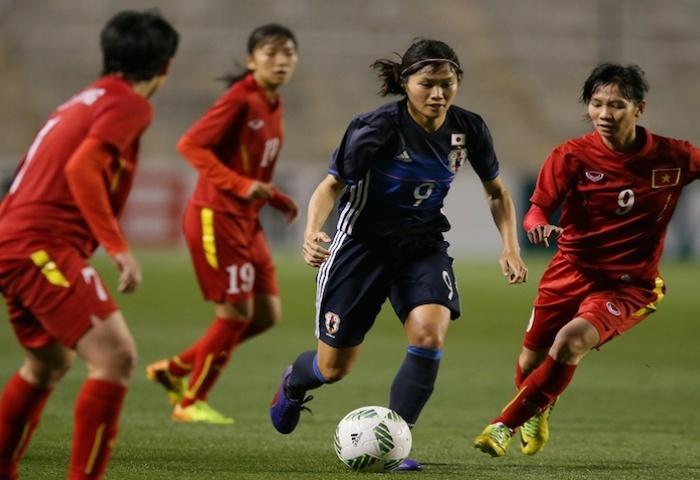 VL thứ 3 môn bóng đá nữ Olympic Rio 2016 (7/3), Việt Nam – Nhật Bản: 1-6